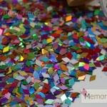 กากเพชร สี และ รูปทรงต่างๆ แบบพิเศษ ขนาด 15 ซีซี