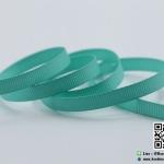ริบบิ้นผ้ากรอสเกน สีเขียวมิ้นท์ ขนาด 6 mm.