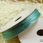 เชือกหางหนู สีมิ้น [45] ขนาด 2 มิล [อย่างดี เนื้อนุ่ม]