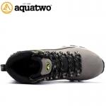 รองเท้าหุ้มข้อ AQUATWO(อะควาทู) รุ่น937 Waterflow สีเทา