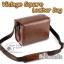 กระเป๋ากล้องเล็ก Mirrorless - Vintage Square Leather Bag thumbnail 3
