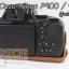 Half Case Nikon Coolpix P900 P900S ฮาฟเคสกล้องหนังนิคอน P900 รุ่นเปิดแบตได้ thumbnail 13