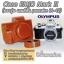 เคสกล้องหนัง EM10 Mark II ตรงรุ่น Case Olympus OMD E-M10 Mark2 ซองกล้องหนัง เลนส์ Kit / เลนส์สั้น thumbnail 2