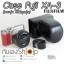 เคสกล้องหนัง Fuji XA3 XA10 XA5 ตรงรุ่น Case Fuji X-A3 X-A10 X-A5 ใช้ได้ทุกปุ่ม thumbnail 4