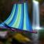 เปลญวน ผ้าสลับสี ขอบไม้ 200CM*80CM thumbnail 13