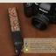 สายคล้องกล้องลายปักเก๋ๆ cam-in Nippon Wave-Brown thumbnail 2