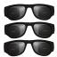 folding sunglasses + ขายางรัด สีดำล้วน thumbnail 2