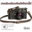 สายคล้องกล้องหนังแท้เส้นเล็ก Cam-in ปรับสายได้ สีโอลีฟ thumbnail 1