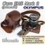 Case Olympus OMD EM5 Mark 2 รุ่นเปิดแบตได้ / เคสกล้องหนัง OMD-EM5M2 thumbnail 2