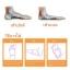 ผ้ารองซิลิโคนสวมกลางเท้า (สำหรับผู้มีปัญหาเท้าแบน) thumbnail 14
