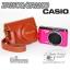 เคสกล้องหนัง Casio ZR1500 ZR1200 ZR1100 ZR1000 มีโลโก้ EXLIM thumbnail 2