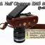 Case Olympus OMD EM5 Mark 2 รุ่นเปิดแบตได้ / เคสกล้องหนัง OMD-EM5M2 thumbnail 11