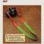สายคล้องกล้องแฟชั่นสวยๆ รุ่นกันลื่น 38 mm สีพื้นเขียวหญ้าปลายแดง thumbnail 7