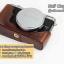 Half Case X70 ฮาฟเคสกล้องหนัง X70 รุ่นเปิดแบตได้ thumbnail 11