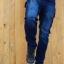 กางเกงยีนส์ Jeans The Tank รุ่น GZ สียีนส์ thumbnail 7