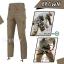 กางเกงขายาวยุทธวิธี Taro สีน้ำตาล(Brown) thumbnail 1