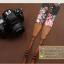 สายคล้องกล้องเก๋ๆ Flower black tone thumbnail 2