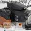 Half Case Nikon Coolpix P900 P900S ฮาฟเคสกล้องหนังนิคอน P900 รุ่นเปิดแบตได้ thumbnail 11