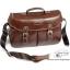 กระเป๋ากล้อง dslr Trendy Dark Brown Leather Bag (L) thumbnail 2