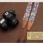 สายคล้องกล้องเก๋ๆ cam-in Vintage light blue Apple berry thumbnail 2