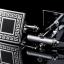 I1301 CUFF LINKS สี่เหลี่ยมดำขอบเงิน + ขอบเงินลายเส้นเขาวงกต thumbnail 2