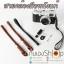 สายคล้องข้อมือกล้องหนังแท้ Camera Wrist Strap Leather thumbnail 1