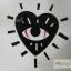 YM-K121 สติ๊กเกอร์สักแฟชั่น sticker tattoo ลายตา 15.5x10.8 cm thumbnail 5