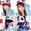 หมวกแก๊ปหมีแพนด้า สีเทาเข้ม thumbnail 3