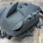 [สีเทา] กระเป๋าเป้สะพายหลัง Backpack แฟชั่นเกาหลีทั้งผู้ชายและผู้หญิง