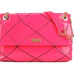 กระเป๋าแฟชั่น Maomaobag หนัง PU สี Glossy Pink