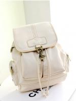 [สีขาว] กระเป๋าเป้สะาพยหลัง Z560-4