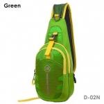 กระเป๋าสะพายข้าง-คาดหน้าอก D02N สีเขียว (Green)