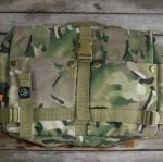 กระเป๋ากล่อง ลายพรางทหารบก